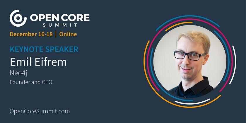 Cover image for OCS 2020 Keynote: Emil Eifrem, Co-Founder/CEO of Neo4j