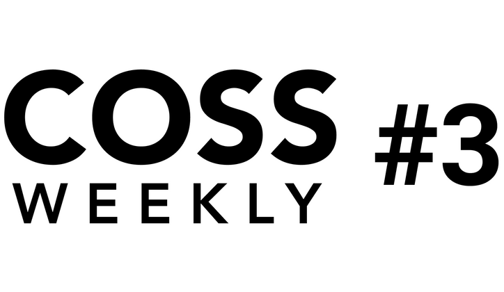 Cover image for COSS Weekly Issue #3 💥