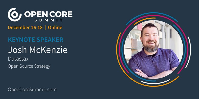 Cover image for OCS 2020 Keynote: Josh McKenzie, Datastax