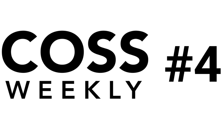 Cover image for COSS Weekly Issue #4 💥