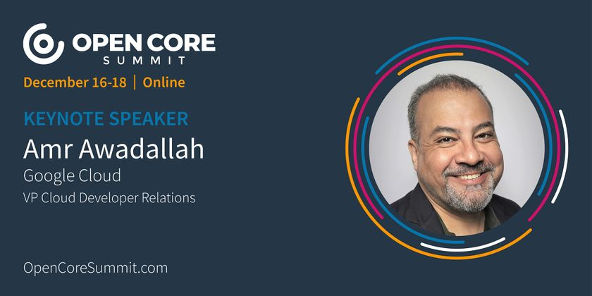Cover image for OCS 2020 Keynote: Amr Awadallah, Co-Founder of Cloudera