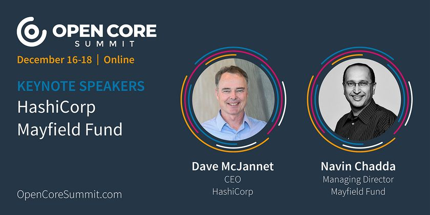 Cover image for OCS 2020 Keynote: Dave McJannet & Navin Chaddha, CEO of HashiCorp and MD at Mayfield
