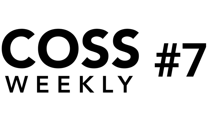 Cover image for COSS Weekly Issue #7