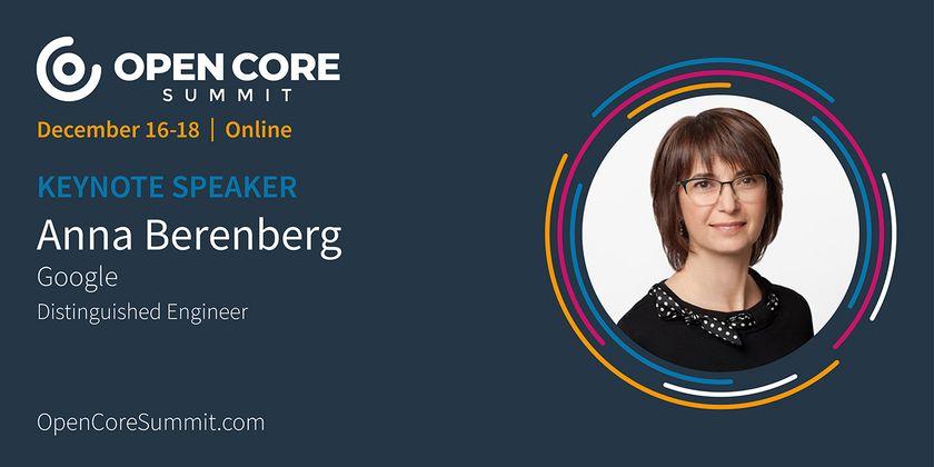 Cover image for OCS 2020 Keynote: Anna Berenberg, Google Distinguished Engineer