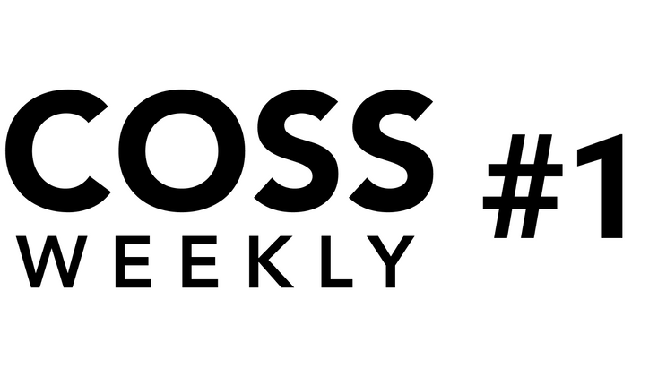 Cover image for COSS Weekly Issue #1 💥