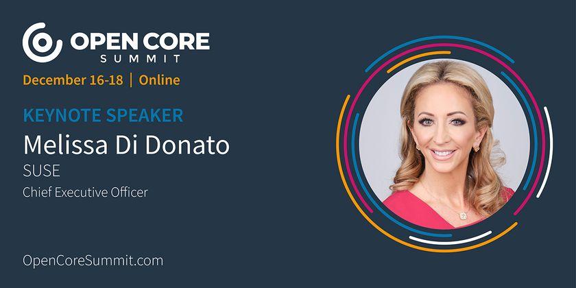 Cover image for OCS 2020 Keynote: Melissa Di Donato, CEO of SUSE