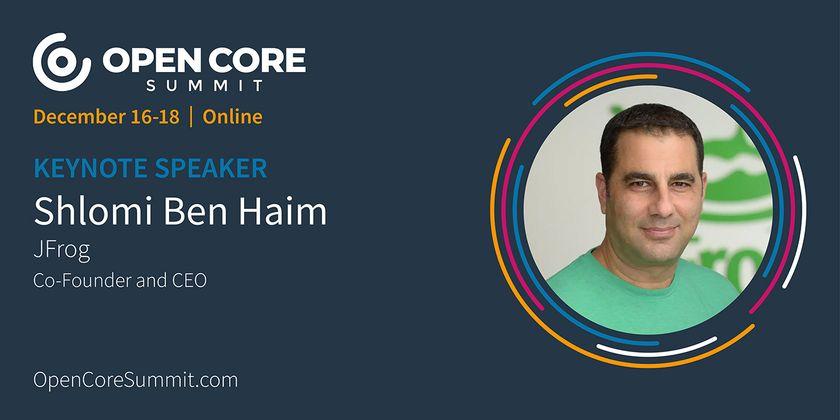 Cover image for OCS 2020 Keynote: Shlomi Ben Haim, CEO of JFrog