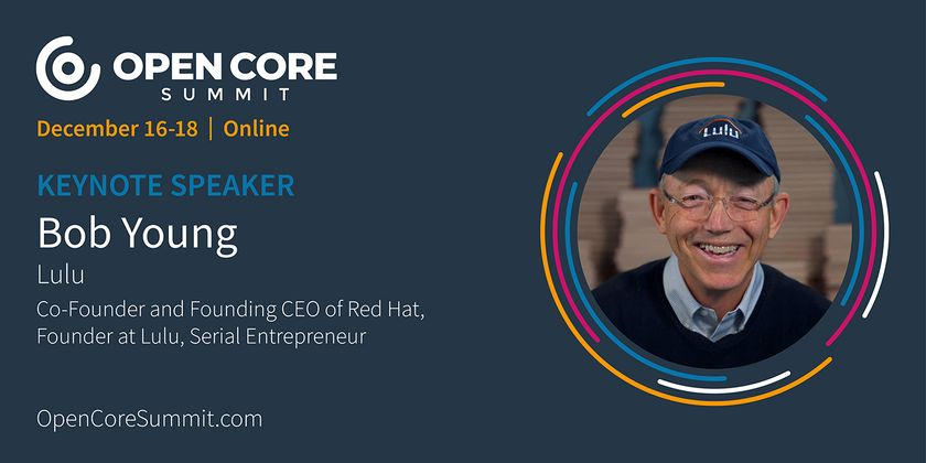 Cover image for OCS 2020 Keynote: Bob Young, former Co-Founder/CEO of Red Hat