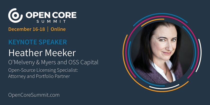 Cover image for OCS 2020 Keynote: Heather Meeker, Partner at OSS Capital