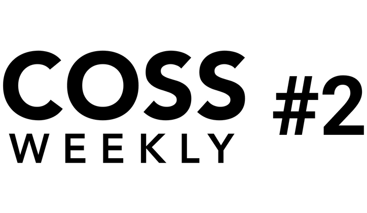 Cover image for COSS Weekly Issue #2 💥